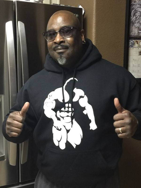 Anthony McCurty-BuffedMan-Black-Hoodie