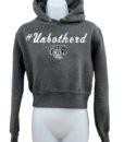 Crop-top-hoodie-Charcoal-Unbothered