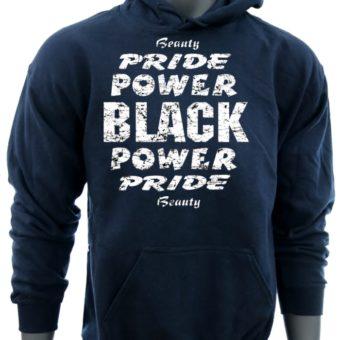 Black Power Pride Beauty-NavySweatshirt-man