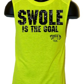 Man-Swole Is The Goal-muscleshirt