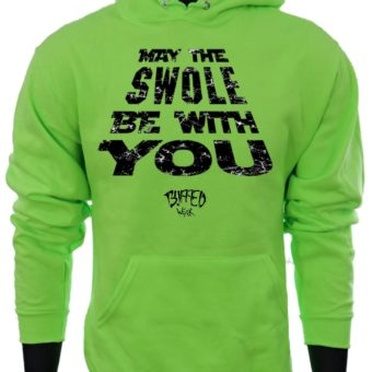 May The SWOLE Be With You-NeonGreen-Sweatshirt-Men