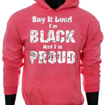 Say it LOUD-PinkSweatshirt-man