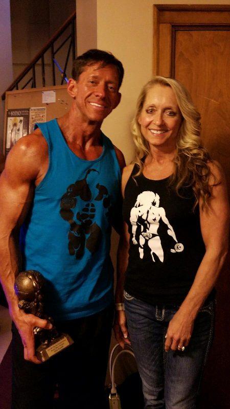 Ben and Kathy Asher-BuffedMan and BuffedGirl